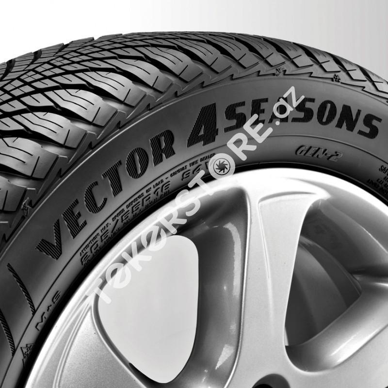 goodyear vector 4seasons gen 2 225 60 r17 99v suv g2. Black Bedroom Furniture Sets. Home Design Ideas